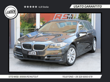 BMW 520 Serie 5 Touring Business aut. | KM CERTIFICATI