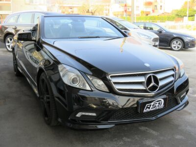 Mercedes-Benz E 220 CDI Cabrio BlueEFFICIENCY Avantgarde AMG